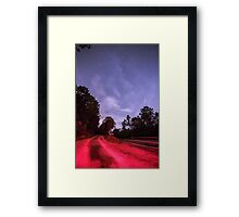 Evans City Cemetery Drive Way Home of Night Of the Living Dead IMG 1297-A Framed Print
