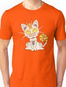 Meowth Pokemuerto | Pokemon & Day of The Dead Mashup Unisex T-Shirt