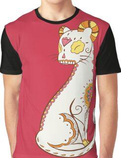Persian Pokemuerto   Pokemon & Day of The Dead Mashup Graphic T-Shirt
