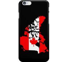 Map of Canada iPhone Case/Skin