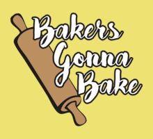 Bakers Gonna Bake Kids Tee