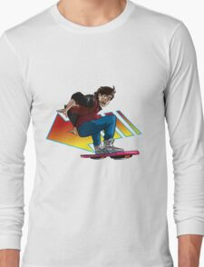 Hoverboard Marty Long Sleeve T-Shirt