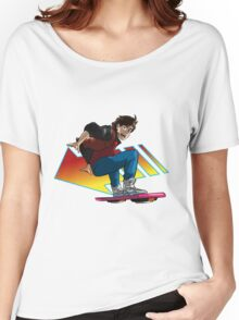 Hoverboard Marty Women's Relaxed Fit T-Shirt