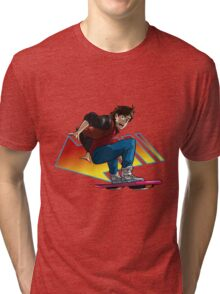 Hoverboard Marty Tri-blend T-Shirt