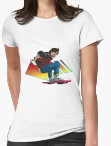 Hoverboard Marty Womens Fitted T-Shirt