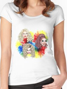 Top 3 Season 6 Women's Fitted Scoop T-Shirt