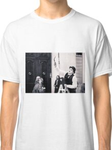 Silent Movie (The Street Performer) Classic T-Shirt