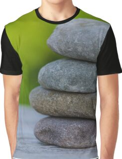 meditation on stones Graphic T-Shirt