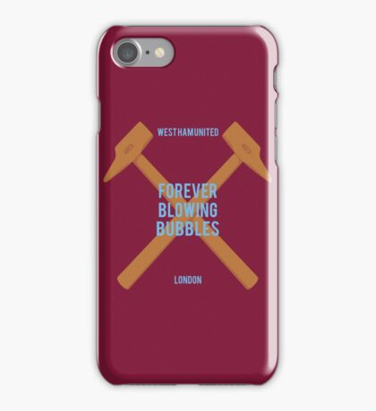 West Ham United - Forever Blowing Bubbles iPhone Case/Skin