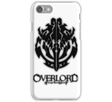 Overlord Anime Guild Emblem - Ainz Ooal Gown iPhone Case/Skin