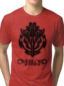 Overlord Anime Guild Emblem - Ainz Ooal Gown Tri-blend T-Shirt
