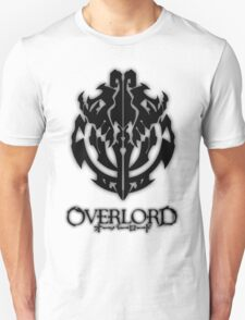 Overlord Anime Guild Emblem - Ainz Ooal Gown Unisex T-Shirt