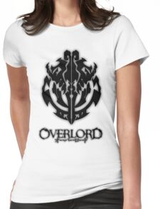 Overlord Anime Guild Emblem - Ainz Ooal Gown Womens Fitted T-Shirt