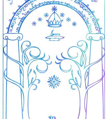 Door of Moria Sticker