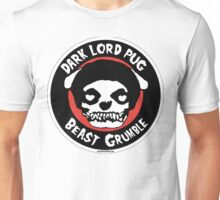 Dark Lord Pug Beast Grumble Unisex T-Shirt