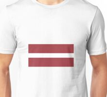 Latvia Flag Unisex T-Shirt