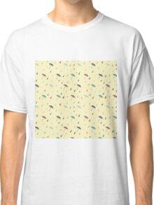 Umbrellas and raindrops Classic T-Shirt