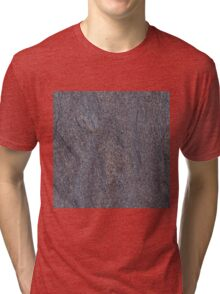 GRANITE BLUE-BROWN Tri-blend T-Shirt