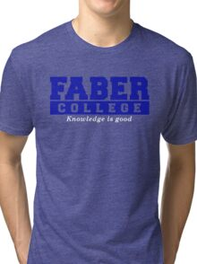 Faber College NATIONAL LAMPOON Animal House Tri-blend T-Shirt