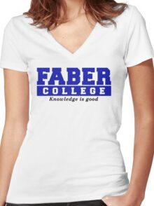 Faber College Animal House Movies TV Women's Fitted V-Neck T-Shirt