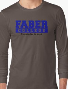 Faber College Animal House Movies TV Long Sleeve T-Shirt