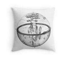 a dimension of alchemy  Throw Pillow