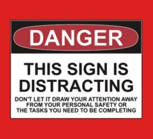 DISTRACTING SIGN One Piece - Long Sleeve