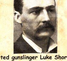 Luke Short Wanted Sticker