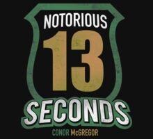 Notorious 13 Conor McGregor by migsmedia1