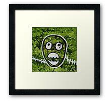 Mighty Boosh Seedy Pete Painting Art Framed Print