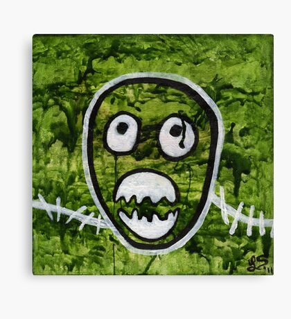 Mighty Boosh Seedy Pete Painting Art Canvas Print