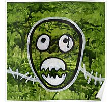 Mighty Boosh Seedy Pete Painting Art Poster