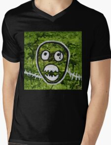 Mighty Boosh Seedy Pete Painting Art Mens V-Neck T-Shirt