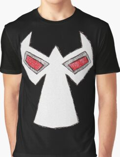 Comic Book Bane Mask Graphic T-Shirt