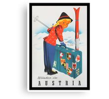 Vintage poster - Austria Canvas Print