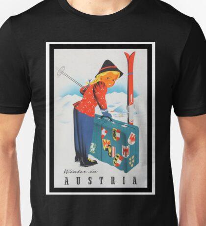 Vintage poster - Austria Unisex T-Shirt