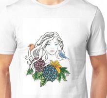 Mother Nature Series by Dk Art Unisex T-Shirt
