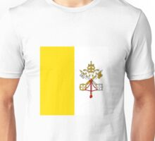 Vatican City Flag Unisex T-Shirt