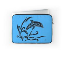 Leaping Dolphin Laptop Sleeve