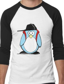 Cool Penguin Men's Baseball ¾ T-Shirt