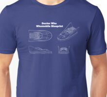 Doctor Who's Whomobile - Blueprint Design Unisex T-Shirt