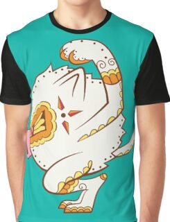 Mankey Pokemuerto   Pokemon & Day of The Dead Mashup Graphic T-Shirt