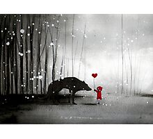little red riding hood ~ be my valentine Photographic Print