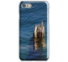 Single Old Piling Vertical 3 iPhone Case/Skin