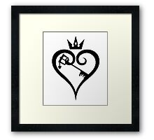 Key to the Kingdom of your Heart Framed Print