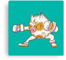 Primeape Pokemuerto | Pokemon & Day of The Dead Mashup Canvas Print