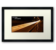 Smash that like button  Framed Print