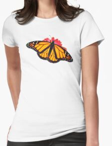 Monarch Butterfly Womens Fitted T-Shirt