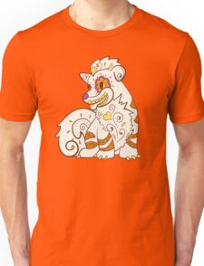 Growlithe Pokemuerto | Pokemon & Day of The Dead Mashup Unisex T-Shirt