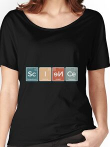 Sc I eN ce Women's Relaxed Fit T-Shirt